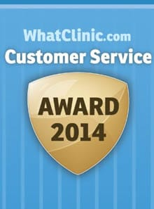 Customer Service Award 2014