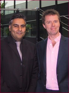 Dr Sagoo & Nicky Campbell